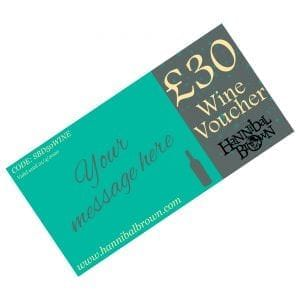 £30 wine gift voucher personalised