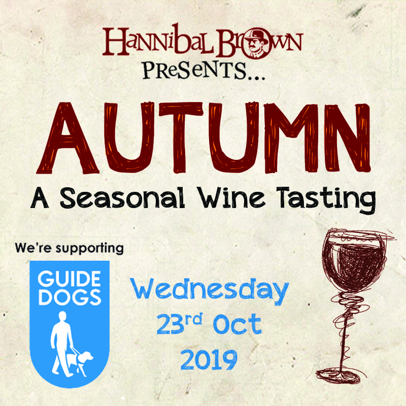Autumn wine tasting