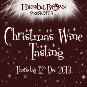 Christmas wine tasting ticket