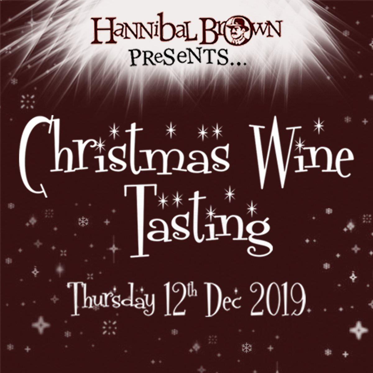 Christmas wine tasting ticket