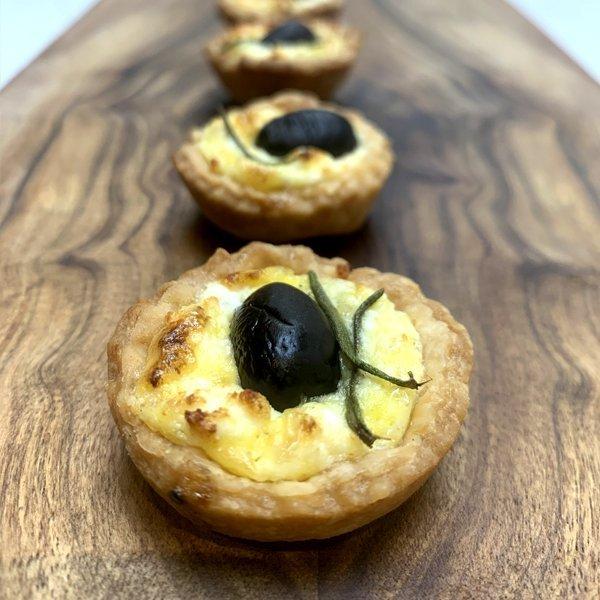 Feta and Olive Tartlet