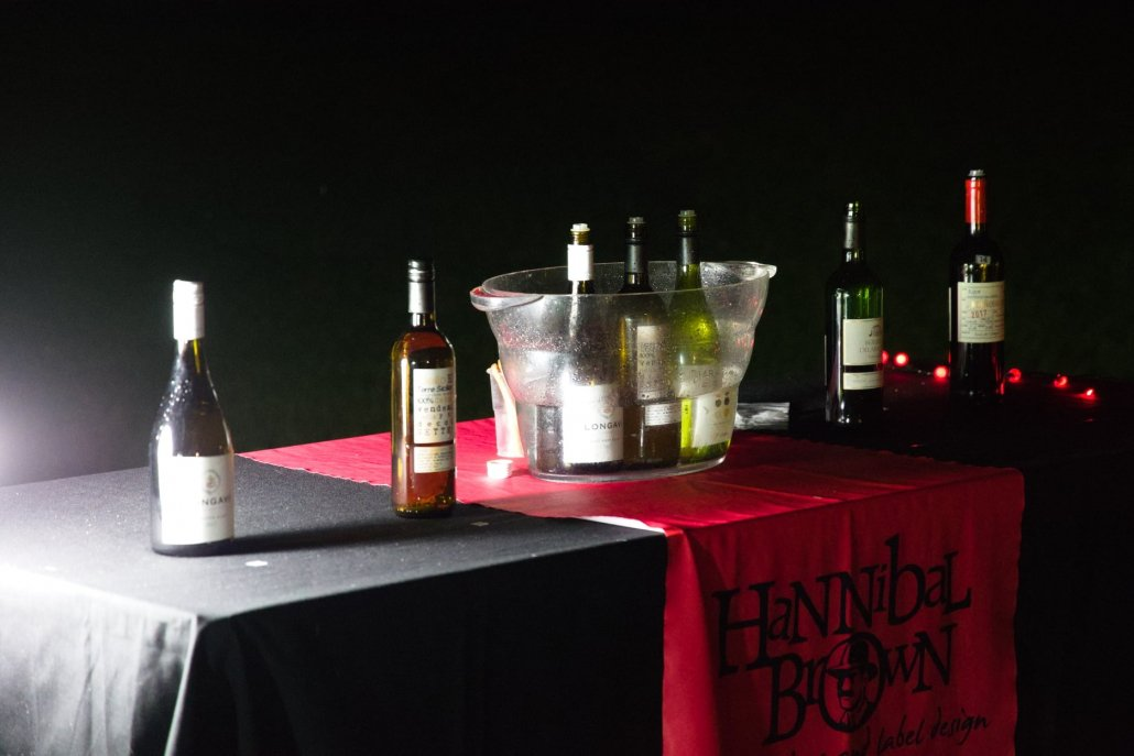 Table at night